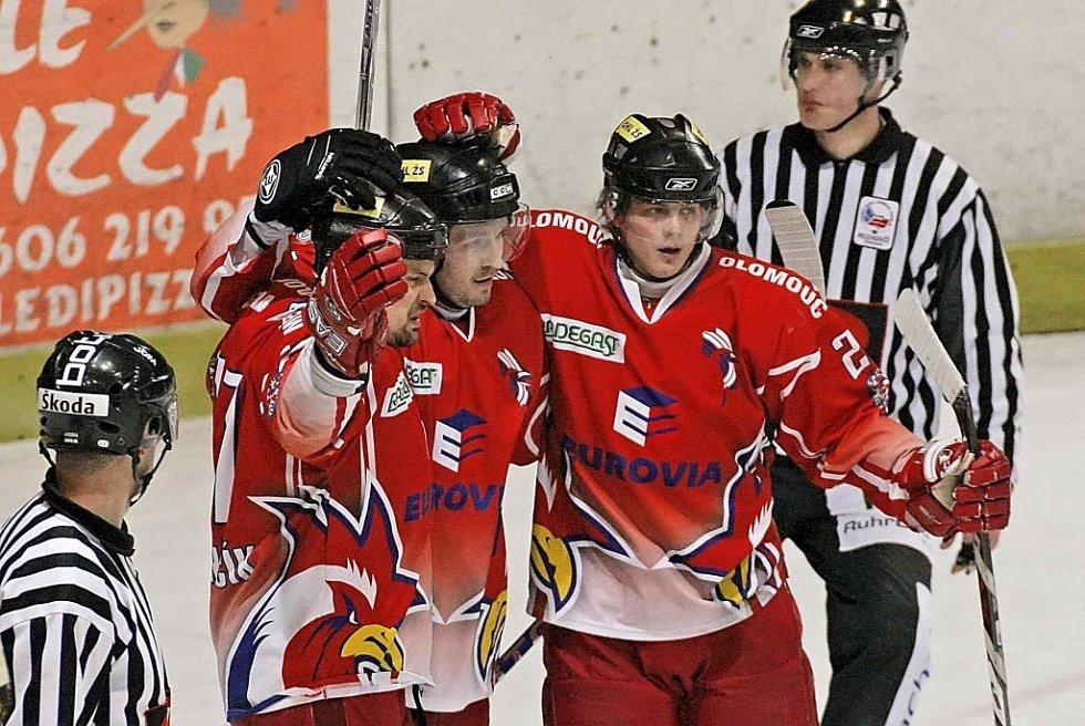 Hokej HB - Olomouc.