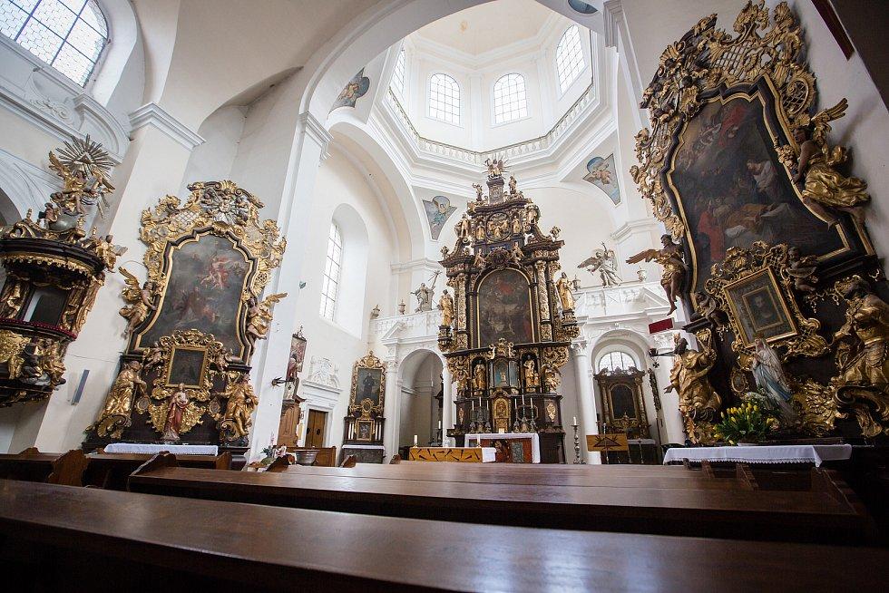 Kostel Nanebevzetí Panny Marie v Havlíčkově Brodě.