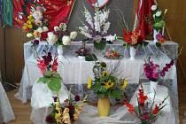 Krucemburk rozkvetl výstavou květin.
