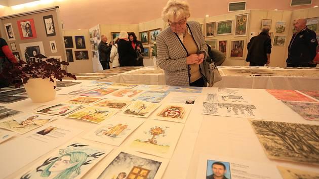 Výstava výtvarníků neprofesionálů Světelska