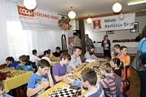 Tradiční šachový turnaj mládeže na Vysočině.