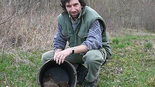 Trojice kilových ježků právě opustila pohodlí stanice v Pavlově.