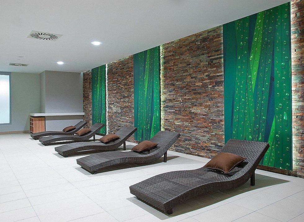 Odpočívárna v Relaxačním centru Žďár nad Sázavou.