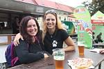 Z Brna na slavnosti přijely i Veronika Kusková a Eva Bergerová.