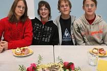 Havlíčkobrodská čtyřčata slavila čtrnácté narozeniny.
