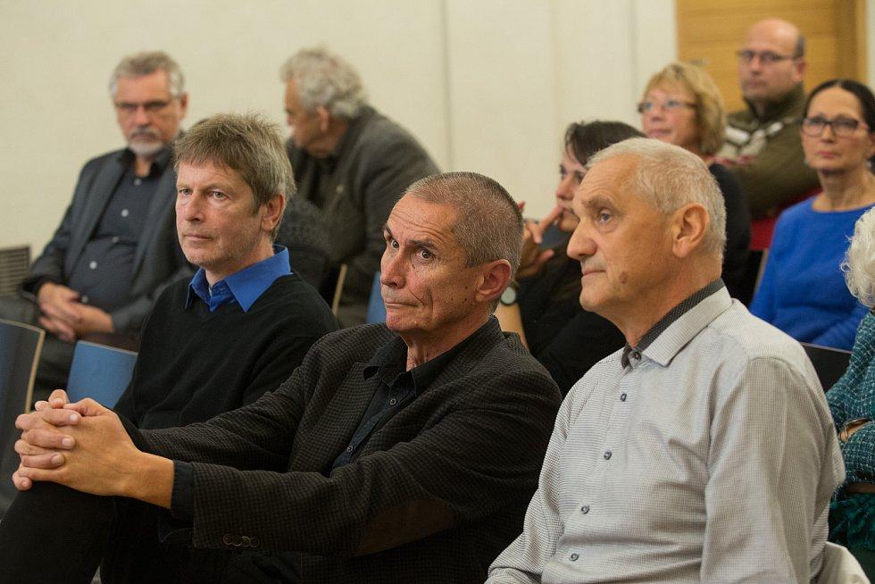 Konference památkářů, projektantů a architektů v Havlíčkově Brodě.