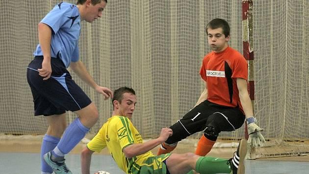 Smlsli si na favoritovi. Futsalisté Bocy Chotěboř překvapili Mělník aktivní hrou, která nesla své ovoce a připsali si do tabulky zasloužené tři body.