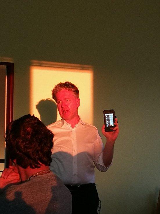 Prezentace biodynamického osvětlení v Havlíčkově Borové.