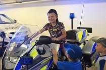 Policejní služebnu ve Světlé nad Sázavou navštívily děti z mateřských škol