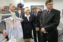 Ministr spravedlnosti Jiří Pospíšil si prošel světelskou věznici.