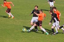 Potvrdit kvalitu se podařilo fotbalistům Ledče, kteří se neomylně ženou do I. A třídy, vyhráli v Budíkově 3:1.
