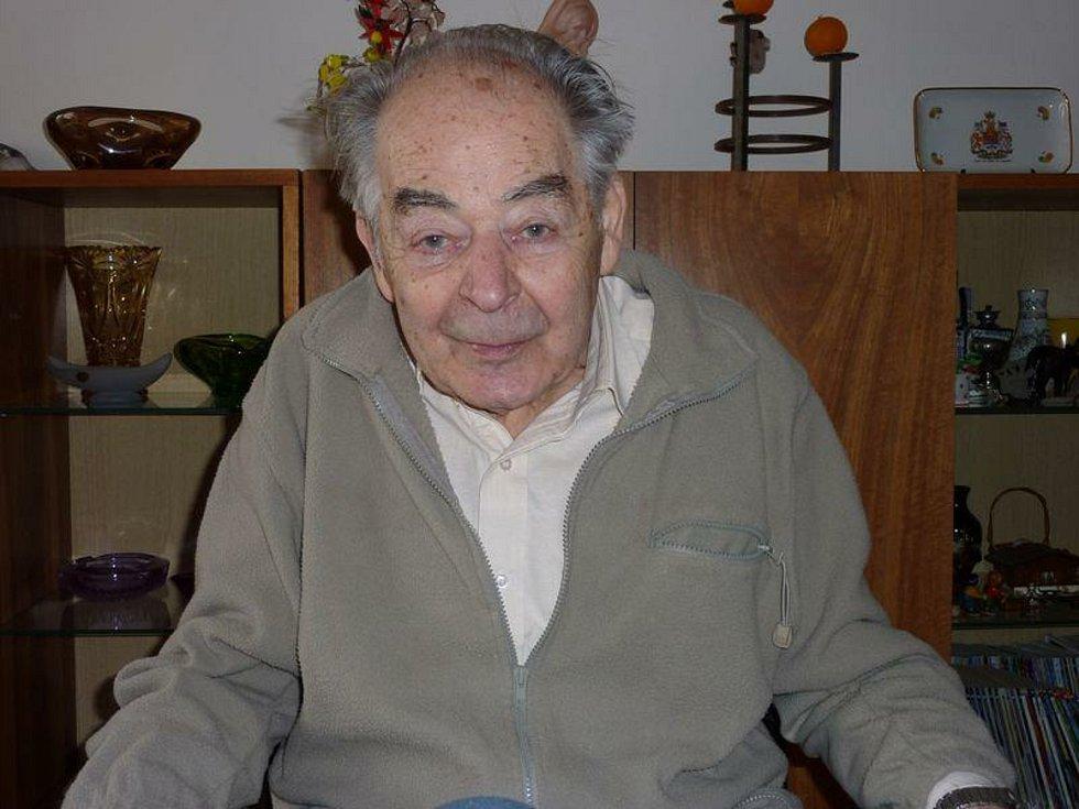 Jeden z vězňů Oldřich Stránský. Fotografie je z archivu Deníku
