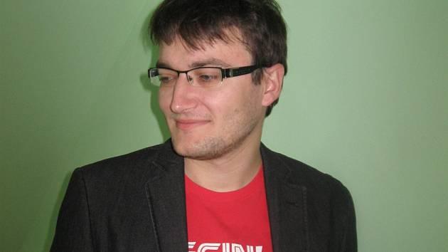 Historik Michal Kamp.
