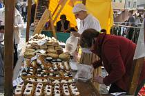 TRHY. Výročí konce druhé světové války slaví Havlíčkův Brod tradičně velkým trhem řemesel.