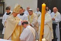 Jahen Damián Kristián Vrchovský byl ve čtvrtek v podvečer vysvěcen na kněze. Vysvětil ho hradecký biskup Jan Vokál. Slavnostní okamžik si nenechaly ujít desítky věřících z celého Havlíčkobrodska.