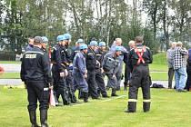 """""""Den hasičů"""" v Havlíčkově Brodě."""