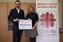 Bratři Trtíkové koncertovali pro světelské klienty Oblastní charity Havlíčkův Brod.