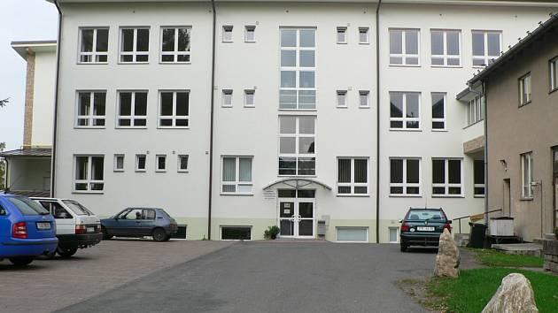 Budova SOŠ.