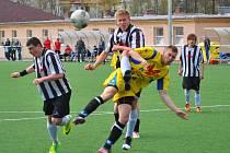 Komplikace vznikla mladším dorostencům brodského Slovanu, kteří ztratili body v Pelhřimově po zisku poháru pro divizního vítěze soutěže.