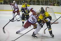 Druhé finálové utkání II. ligy mezi HC Moravské Budějovice 2005 a BK Havlíčkův Brod.