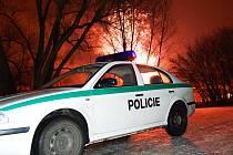 Policie v akci. Silvestrovská noc nebyla pro vysočinské záchranáře vůbec klidná. Ilustrační foto: