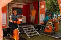 Oranžová kola.