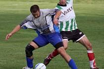 Fotbalisté Světlé (vlevo Miroslav Pecha) ve víkendovém kole I. A třídy ve skupině A hostí okresního rivala z Přibyslavi.