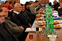 Ze schůzky v Kožlí.