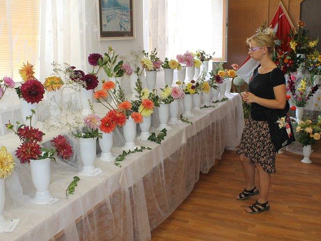 Milovníci květin si v Krucemburku opětovně přišli na své.