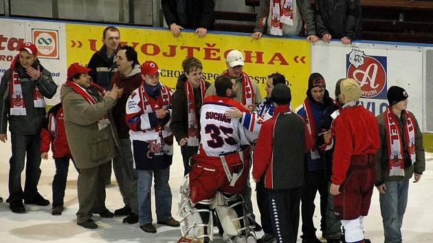 Nový předseda představenstva HC Rebel Havlíčkův Brod Libor Honzárek by rád ještě více prohloubil klubový patriotismus jednotlivých diváků.