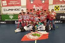 Foto vítězného týmu na turnaji Tatran Open 2020