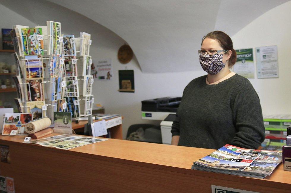Turistické informační centrum v Přibyslavi.