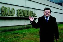 Jiří Hudera dal dohromady tým, který  chce obnovit sklářskou výrobu ve Světlé nad Sázavou.     S nabídkou osloví do konce týdne věřitele, věřitelský výbor i insolvenčního správce.