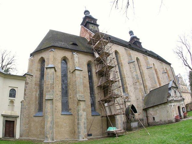 Kostel v Pohledu.