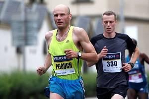 Chotěbořský Leoš Pelouch vyhrál s více než minutovým náskokem.