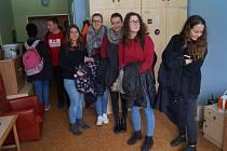 Návštěva studentů VŠPJ v Domově Háj a komunitním bydlení ve Světlé nad Sázavou.