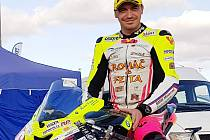 Pád zažil Michal Prášek v posledním závodu šampionátu Alpe Adria v Německu.