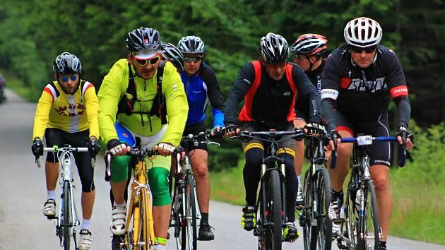 Na trať Ždíreckého Trianglu vyjelo 169 cyklistů.
