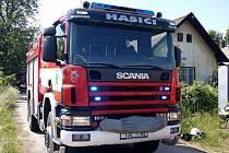 Vozidlo Scania hasičům z Golčova Jeníkova zatím slouží, ale brzy to nemusí platit.