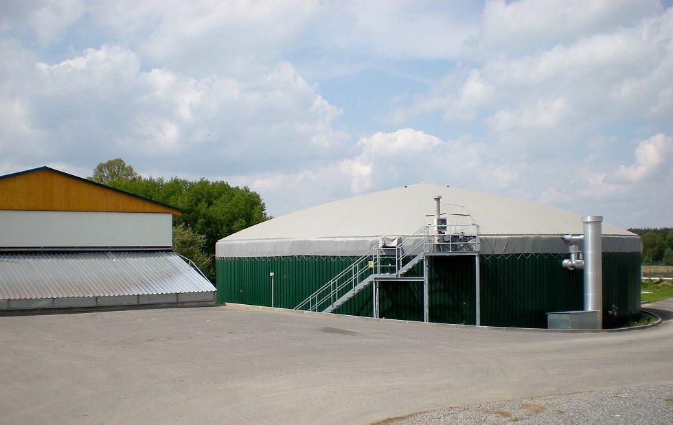 Bioplynová stanice Lípa.