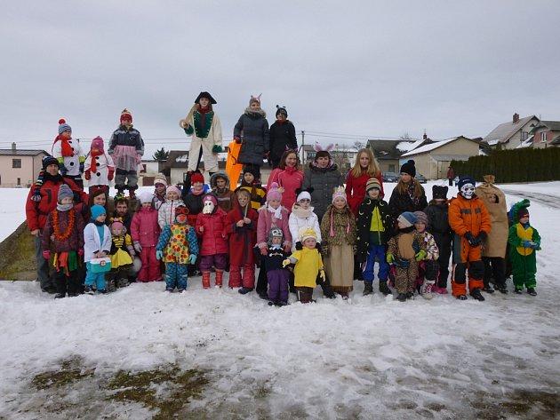Nultý ročník karnevalu na sněhu se uskutečnil v Pohledu.