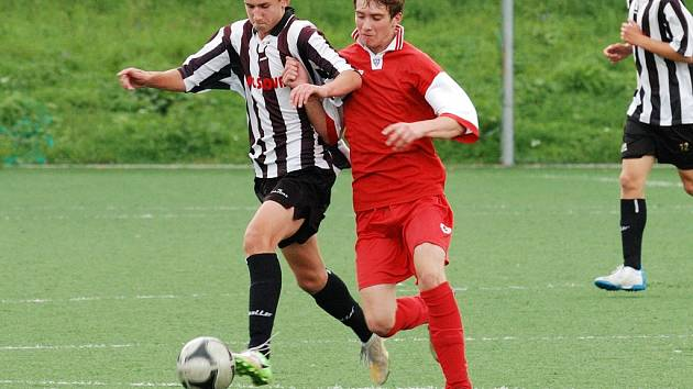 Čtyři body. Ty uhráli divizní dorostenci Havlíčkova Brodu proti Spartě Brno. Starší neudrželi vedení 2:0.