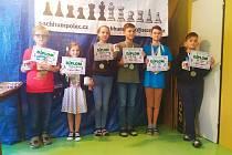 Vítězové kategorií Krajského přeboru mládeže šachu