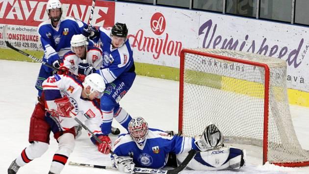 První třetina rozhodla o debaklu mladších dorostenců HC Rebel na ledě Liberce, kde prohráli 4:0.  V dalších třetinách inkasovali  jen po dvou brankách.