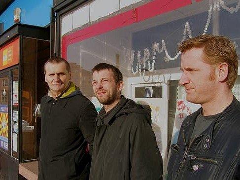Kapelu Boo tvoří (zleva): Josef Ostřanský, Christoph Pajer a Renda Basche.