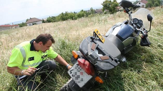Nejčastější příčinou nehod motocyklistů je přecenění schopností řidiče. Ilustrační foto: