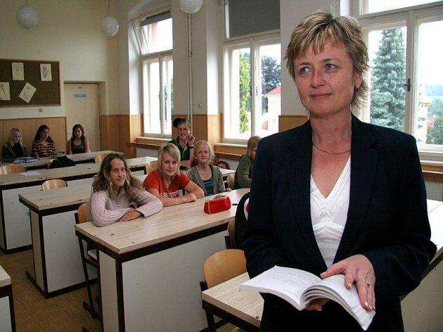 Ředitelka i maminka. Jana Myslivcová velí škole, kde Škubánek sídlí. Do něj chodily i obě její dcery.