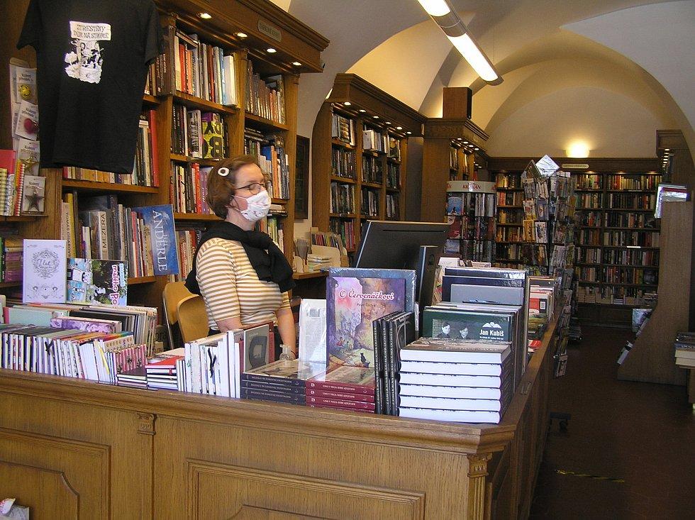 Knihkupectví Vysočina v Havlíčkově Brodě.
