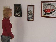 Výstava Karla Strnada skýtá umělecký zážitek všem návštěvníkům.