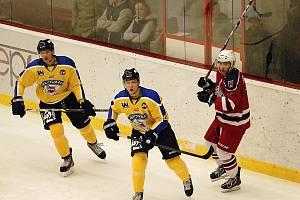 Ilustrační foto z utkání HC Rebel versus HC Slovan Ústí nad Labem.